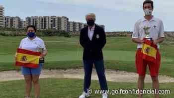 Jorge Olmos y María Rodríguez campeones del Mid-Amateur de Pitch & Putt - GolfConfidencial