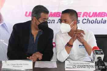 Trabajo conjunto entre próximas autoridades de San Andrés Cholula y el COE - Noticias de Hoy Puebla | Contraparte | Periodismo en Equilibrio | - Contraparte