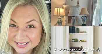 Rosie Ramsey shows off Northumberland home as she gets creative