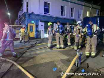 Brighton pub the Roundhill closes to fix damage after fire in cellar
