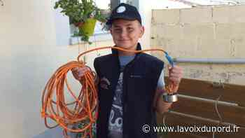 Grand-Fort-Philippe: le jeune Axel Broutin veut nettoyer la planète! - La Voix du Nord