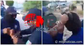 Por tapar baches y pedir limosna, policías de Zinacatepec someten a anciano ya embarazada - MTPNoticias