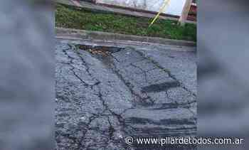 Piden bacheo para calles del centro de Pilar que están deterioradas - pilardetodos.com.ar