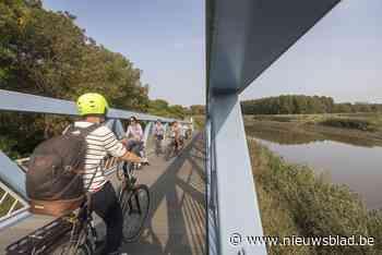 Nieuwe fietsroute langs het water danst op (geluids)golven
