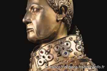 Loches : présentation à la Chancellerie de pièces exceptionnelles du trésor napolitain de San Gennaro - France 3 Régions
