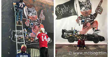 Montreal Has A New Mural Dedicated To The Habs And It's Pretty Metal (VIDEO) - MTL Blog