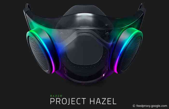 Razer Project Hazel smart facemask shipping before 2022