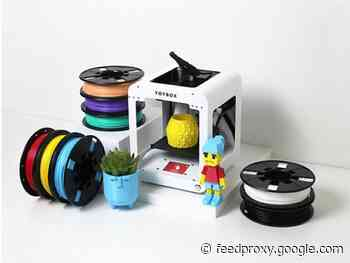 Reminder: Save 23% on the Toybox 3D Printer Deluxe Bundle