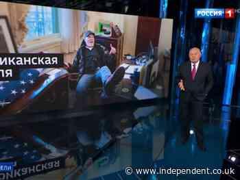 Capitol insurrectionist stars on Russian state TV before Biden-Putin summit