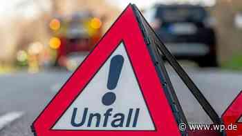 Balve: Pkw prallt ungebremst gegen eine Schutzplanke - Westfalenpost