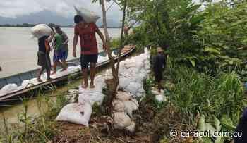 En Guaranda (Sucre) trabajan para contener filtraciones del río Cauca - Caracol Radio