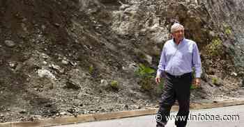 """""""Progreso con justicia"""": AMLO presumió el avance en la construcción de la carretera Mitla-Tehuantepec en Oaxaca - infobae"""