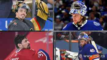 Goalies are the front-runners for the Conn Smythe trophy