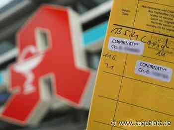 Andrang auf Digital-Impfnachweise in Apotheken - TAGEBLATT: Nachrichten aus Stade, Buxtehude und der Region - Tageblatt-online