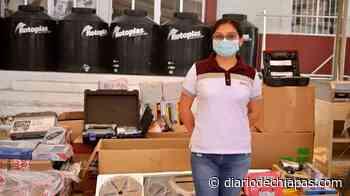 Equipan plantel de San Fernando - Diario de Chiapas