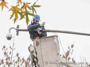 San Fernando instaló cámaras de seguridad en el barrio Infico - Que Pasa Web