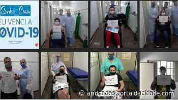 Santa Casa de Andradas faz homenagem aos recuperados da covid-19 - ® Portal da Cidade | Andradas