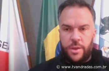 TV Atende - Prefeito de Caldas Ailton Goulart - ANTV - Notícias de Andradas e região - TV de Andradas