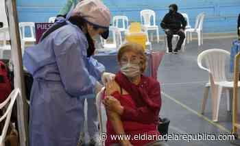 El 32,19% de la población de San Luis ya recibió la primera dosis - El Diario de la República