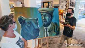 Hanau: Meisterwerke neben Hobbymalerei im Kunstkaufladen - Frankfurter Rundschau