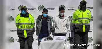 Capturados robaban con arma traumática en Túquerres - Extra Pasto