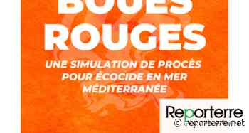 Boues rouges, une simulation de procès pour écocide en mer, à Pantin (Seine-Saint-Denis) - Reporterre