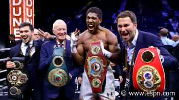 Hearn: Joshua doubts Fury bout will ever happen