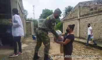 Ejército Nacional e ICBF entregan ayudas en Astrea, Cesar - El Informador - Santa Marta