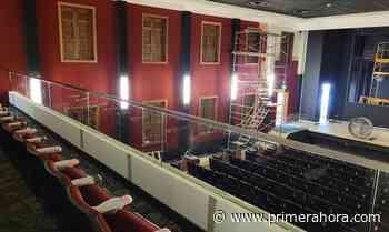 Mira cómo está quedando el interior del Teatro Balboa de Mayagüez - Primera Hora