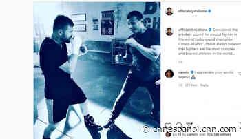 «Rocky Balboa» dedica palabras de elogio al «Canelo» Álvarez - CNN