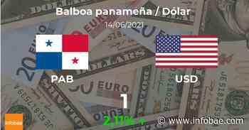 Dólar hoy en Panamá: cotización del balboa al dólar estadounidense del 14 de junio. USD PAB - infobae