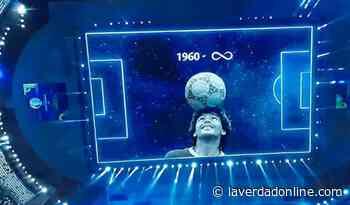 Conmebol homenajeó a Maradona - Diario La Verdad Junín