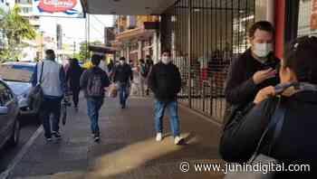 """Bajaron los contagios en Junín, pero aseguran que """"la tasa sigue elevada"""" - Junín Digital"""