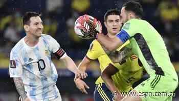 David Ospina le ganó el duelo individual a Lionel Messi y fue clave para que Colombia iguale ante Argentina - ESPN