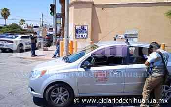 Omite alto y ocasiona choque en San Felipe - El Diario de Chihuahua