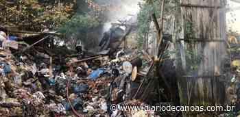 Galpões com lixo industrial pegam fogo em Taquara - Diário de Canoas