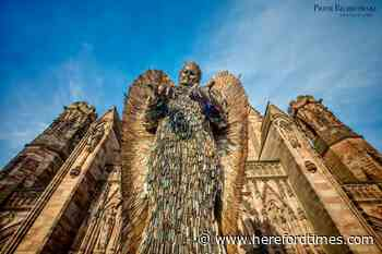 Knife Angel in Hereford: your thoughts and pictures