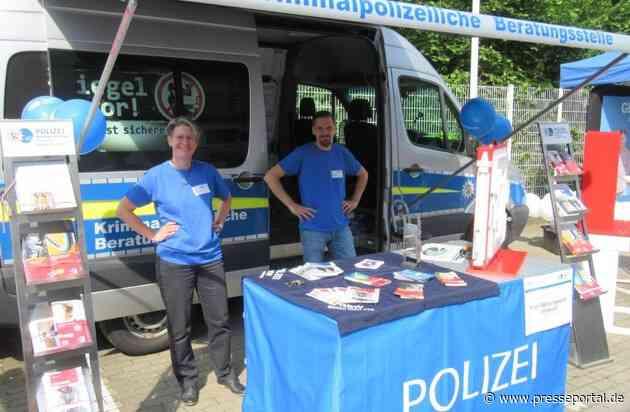 POL-RBK: Bergisch Gladbach - Infomobil der Kriminalprävention auf dem Wochenmarkt in Refrath