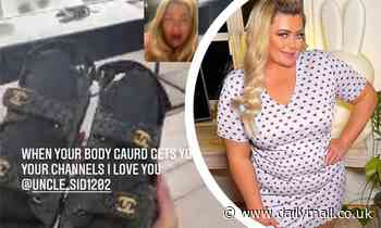 Gemma Collins reveals her bodyguard Sid gifted £2K Chanel sandals on lavish shopping spree