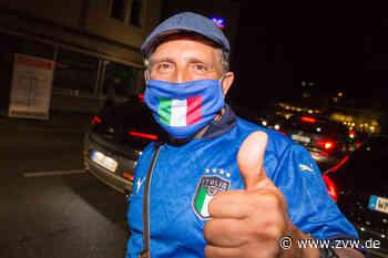 Italienische Fußball-Fans feiern EM-Auftaktsieg in Fellbach - Homepage - Zeitungsverlag Waiblingen - Zeitungsverlag Waiblingen