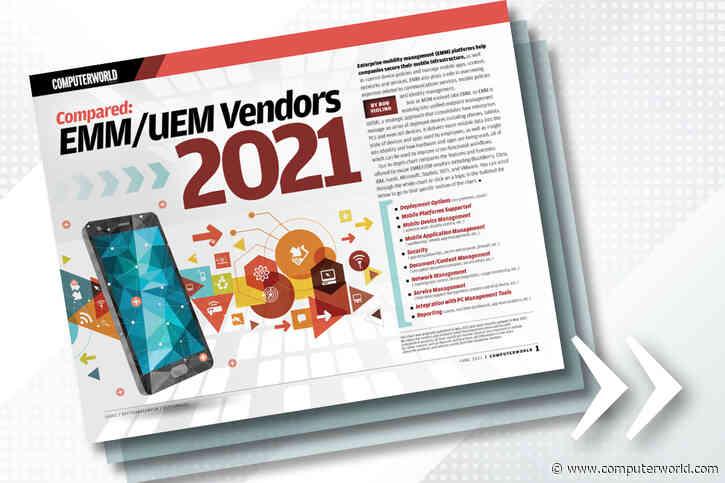 Download: EMM/UEM vendor comparison chart 2021