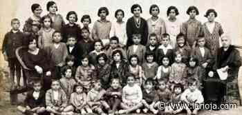 La Retina: escolares del colegio de Santa Eulalia Bajera en 1928 - La Rioja