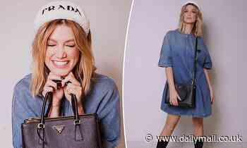 Delta Goodrem shows off her new $3,900 Prada bag