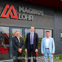 Magirus Lohr eröffnet neuen Firmenstandort in Premstätten - wirtschaftszeit.at