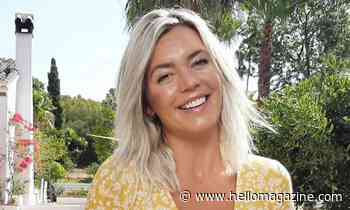 A Place in the Sun's Danni Menzies stuns in leopard print bikini in Greece