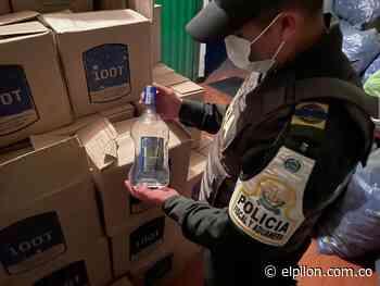Incautan más de dos mil botellas de contrabando en El Copey - ElPilón.com.co
