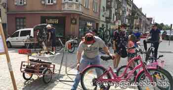 Spaichingen: Mountainbikestrecke am Zundelberg eröffnet - Schwäbische