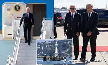 Joe Biden lands in Geneva amid tight security before 5-hour Putin summit