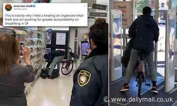 Robber steals trash bag full of goods from San Francisco Walgreens