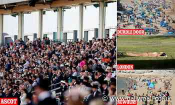 Who needs Freedom Day anyway? Racegoers pack Ascot while sunworshippers soak up the raysa